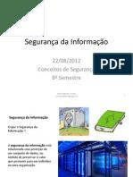 Segurança da Informação - Aula 1
