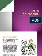 Salud Ocupacional Exposicion