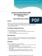 Share Point Course