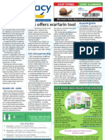 Pharmacy Daily for Fri 31 May 2013 - Warfarin tool, CHA, Advanced Practice, QV, NSAIDs, pain and more