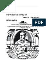 ACOPIO Y COMERCIALIZACIÓN DE HOJA DE STEVIA