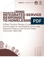 Delivering Integrated Service Responses to Homelessness Best Practice Report CVCCIC 18022013