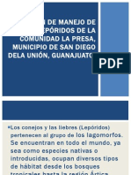 PLAN DE MANEJO DE LEPÓRIDOS IMELDA_NAVARRO_RODRIGUEZ