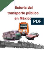 historia del transporte público