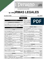 d.s. 033-2006-Mtc Valores Referen Transporte Terrestre