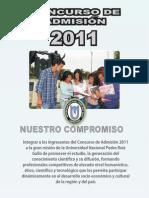 Admision2011 Prospecto Completo