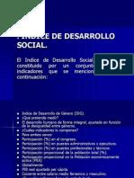 Indice de Desarrollo Social