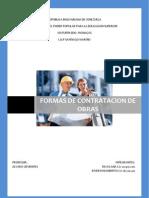 Contrataciones de Obra