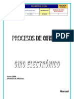 Manual Giro Electronico