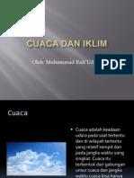 Presentasi Cuaca Dan Iklim