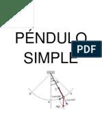 INF 05-PÉNDULO SIMPLE