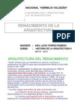 Arquitectura Del Renacimiento