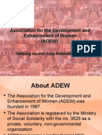 ADEW Program Presentation