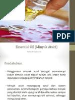 Essential Oil (Minyak Atsiri)