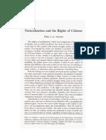 Naturalization and the Rights of Citizens by Shaykh Taha Jabir Alwani