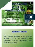 Administracion de La Produccion (Conceptos de Adm General)