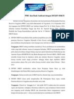 Rekomendasi Dari PPBU Dan Hasil Audiensi Dengan DITJEN DIKTI