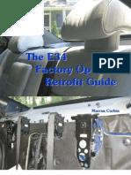 80785425 BMW E34 Factory Options Retrofit Guide