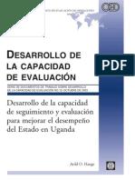 Desarrollo de La Capacidad Del Estado en Uganda