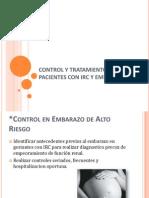 Control y Tratamiento en Pacientes Con Irc