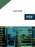 1920-1930 fasion studies