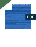 El modelo de Planeación de Lippitt
