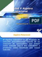 Unidad v Algebra Relacional