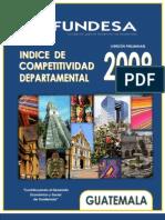 ICD - Indice de Competitividad Departamental (Preliminar)