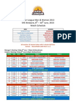 2013 super league draw