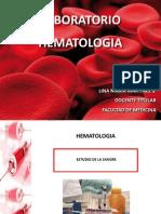 Clase Laboratorio Hematologia