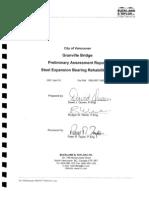 Granville Street Bridge Preliminary Assessment report