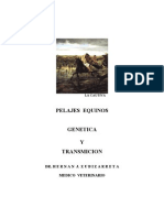 Pelajes Equinos Genetica y Transmicion