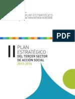 II Plan Estratégico del Tercer Sector de Acción Social 2013-2016