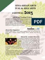11th China-Asean Arts Festival_Prospectus(English)
