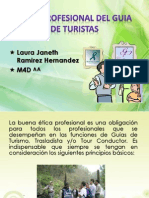 Etica Profesional Del Guia de Turistas