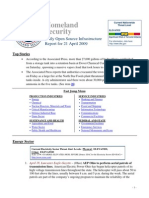 DHS Daily Report 2009-04-21