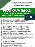 Nova Folha Amtm Comerciantes Maio 2013 Novo Horario
