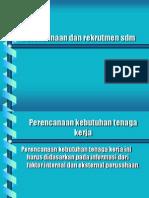 presentasi perencanaan sdm