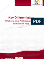 Ideal Analytics Key Differentiators