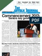 The Suffolk Journal- Orientation 2013