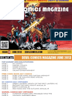 Devil Comics Entertainment Magazine June 2013