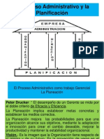 El Proceso Administrativo como trabajo Gerencial-Planeación