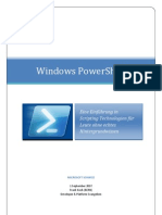 Windows Powershell - De