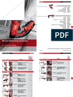 Hilti Direct Fastening Systems