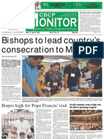 CBCP Monitor Vol. 17 No. 11