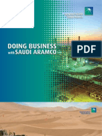 Doing Business With Saudi Aramco