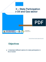 State Participation in the Oil and Gas Sector