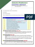 Communication+Advisory for May 11-2013