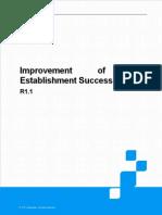 TBF Establishment Success Rate(ZTE)