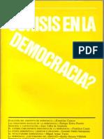 ¿Crisis en la democracia [1984]